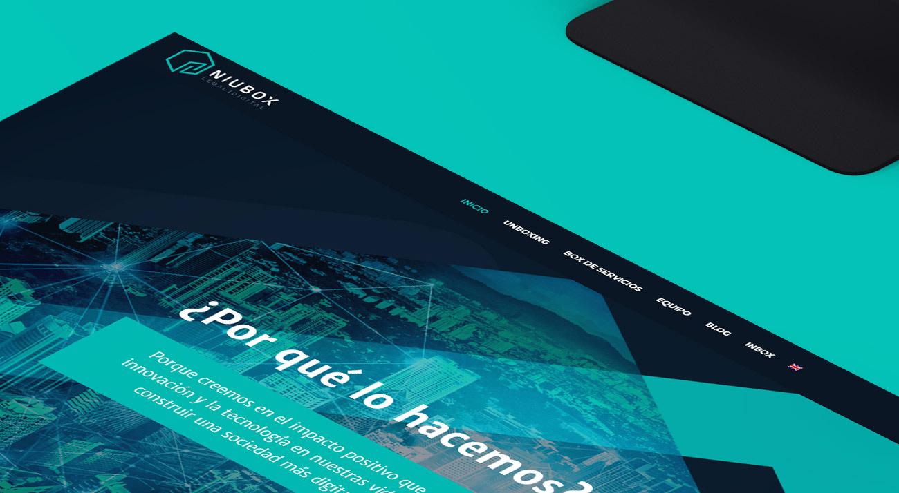 Desarrollo web para Niubox