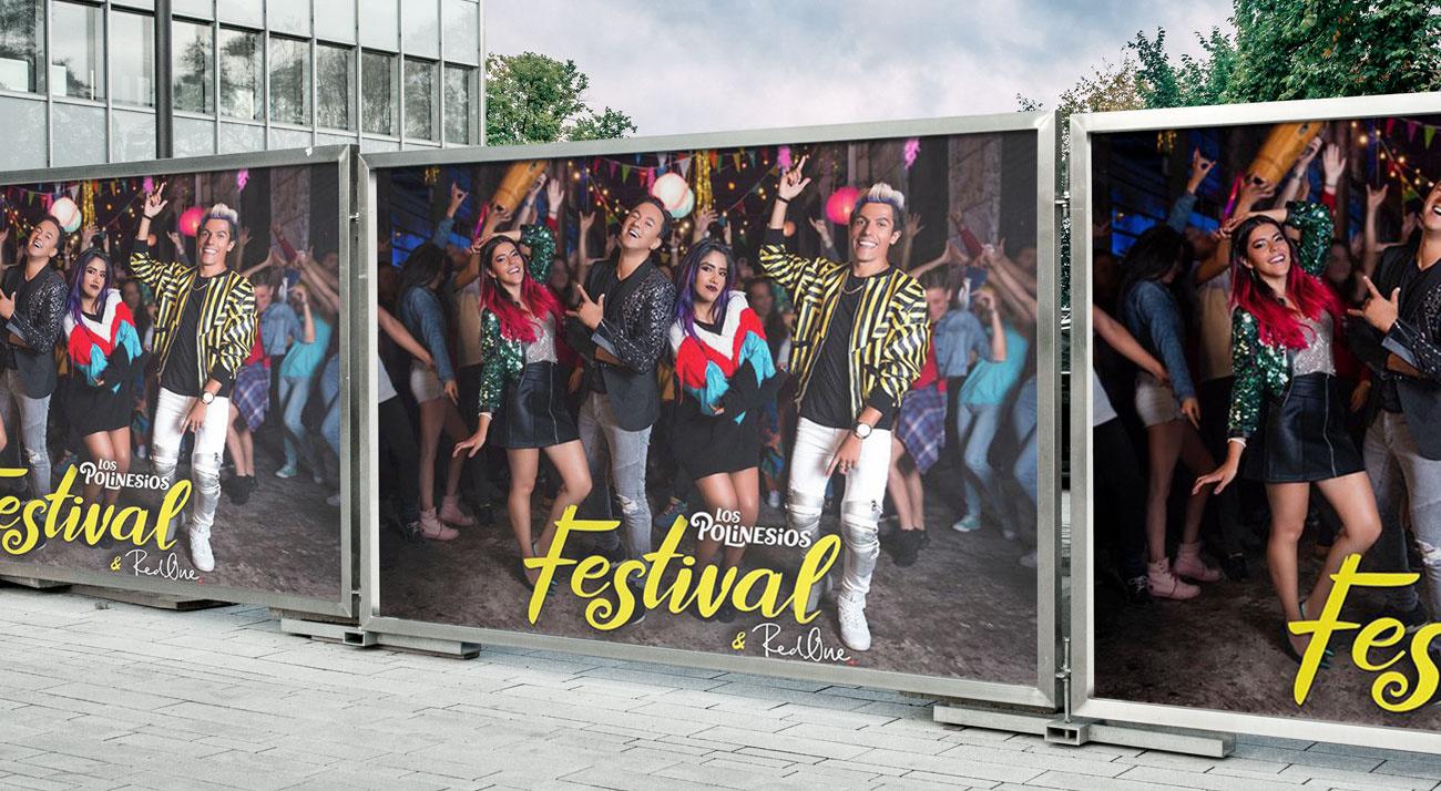 Vallas de Festival